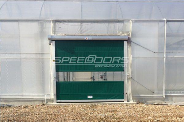 porta avvolgimento slim separare serra da esterno azienda agricola