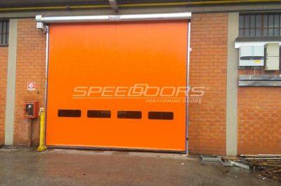 speedoors ecofibre porta ad avvolgimento rapido rewind settore tessile
